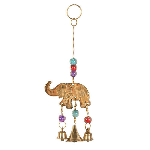 Elephant Brass Chime