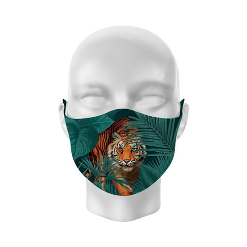 Big Cat Reusable Adult Face Covering