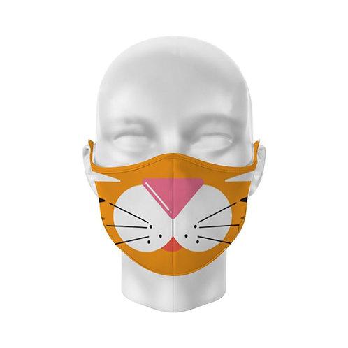 Cutiemals Tiger Reusable Adult Face Covering