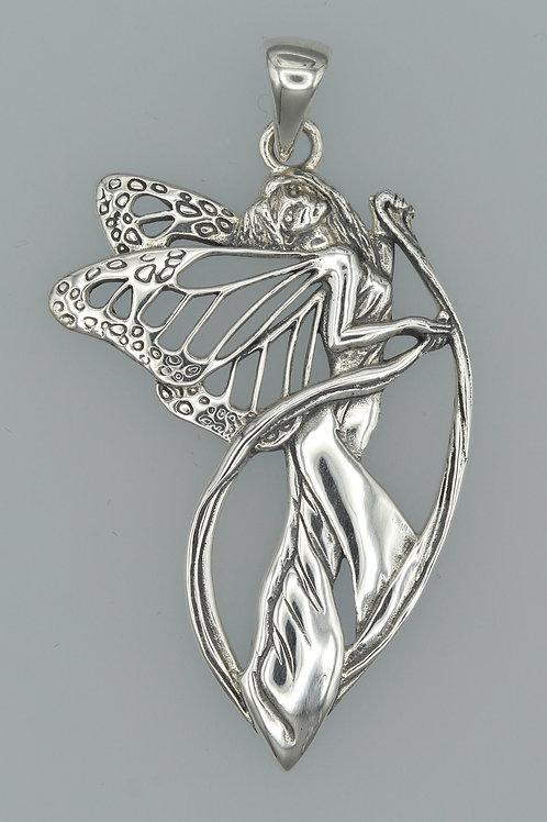 """Butterfly"" Fairy Pendant"