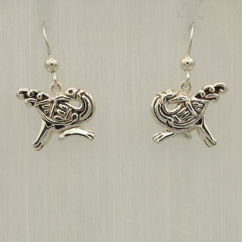 Celtic Bird Earrings