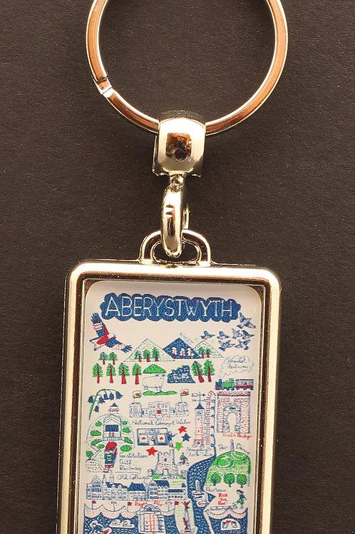 Aberystwyth Key Ring