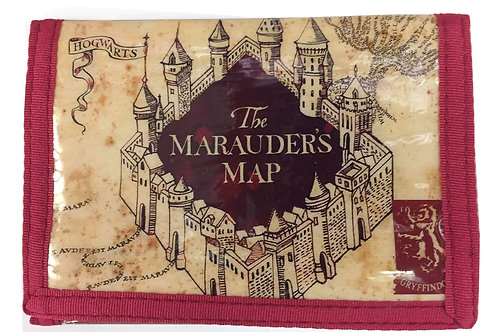 Harry Potter Marauder's Map Trifold Wallet