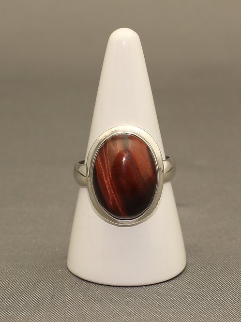 Red Tiger's Eye Ring