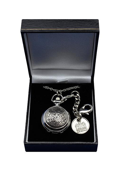 Celtic Tiskele Spiral Ladies Pendant or Bag Charm