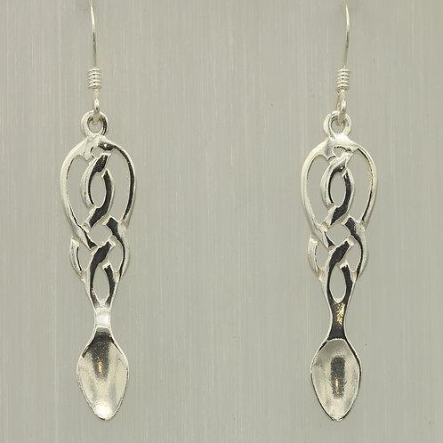 Celtic Lovespoon Earrings