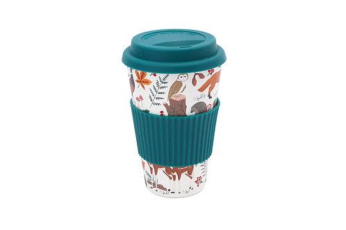 Fox and Fern Travel Mug