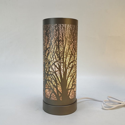 White and Grey Aroma Touch Lamp