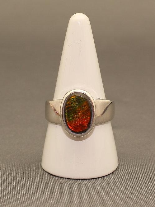 Ammolite Ring