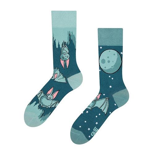 Bats In The Night Good Mood Socks
