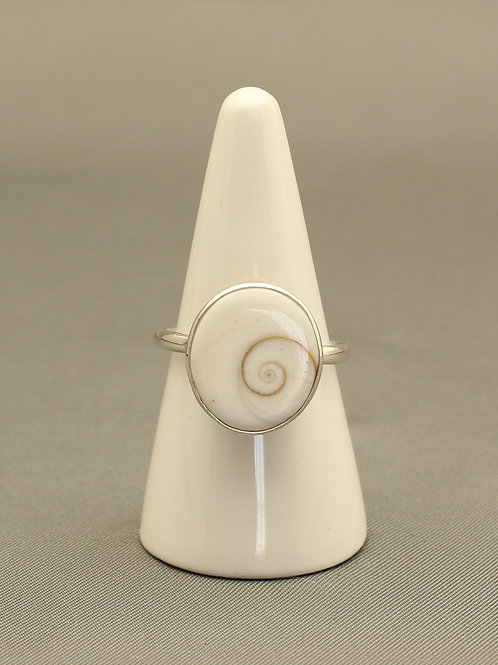Shiva Eye Shell Ring