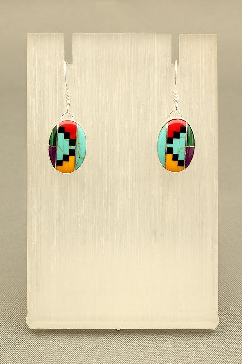 Zuni Stone Earrings