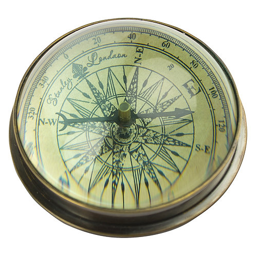 Domed Compass Paperweight