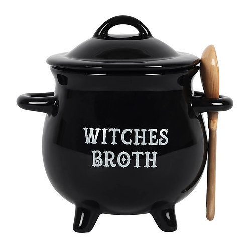Witches Broth Soup Bowl with Spoon