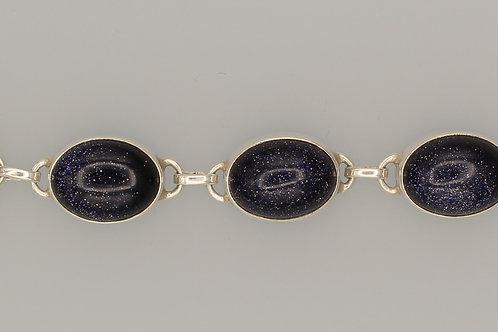 Blue Goldstone Bracelet