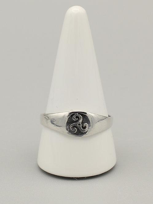 Celtic Triskele Ring