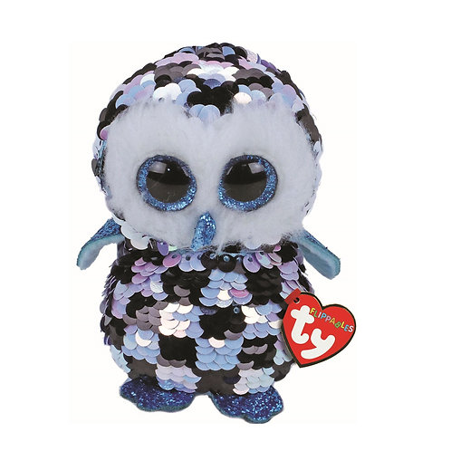 Topper the Owl Flippable Ty Beanie Boo