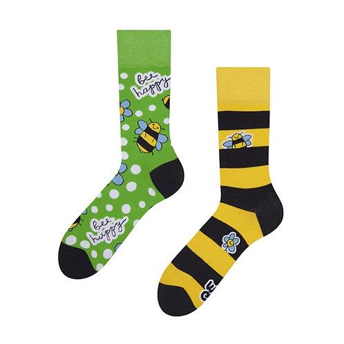 Bee Happy Good Mood Socks