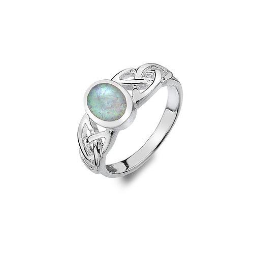 Celtic Opal Ring