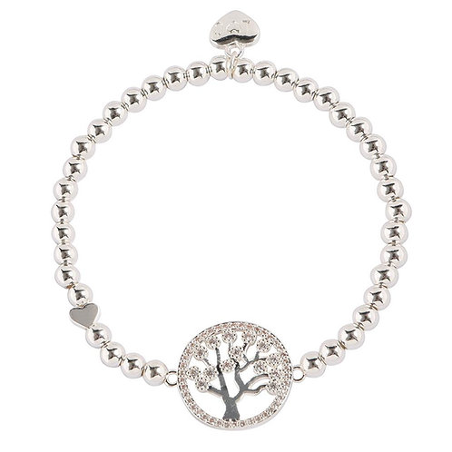 Family is Everything Life Charm Bracelet
