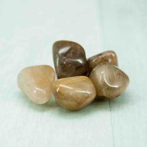 Rutilated Quartz Tumblestone