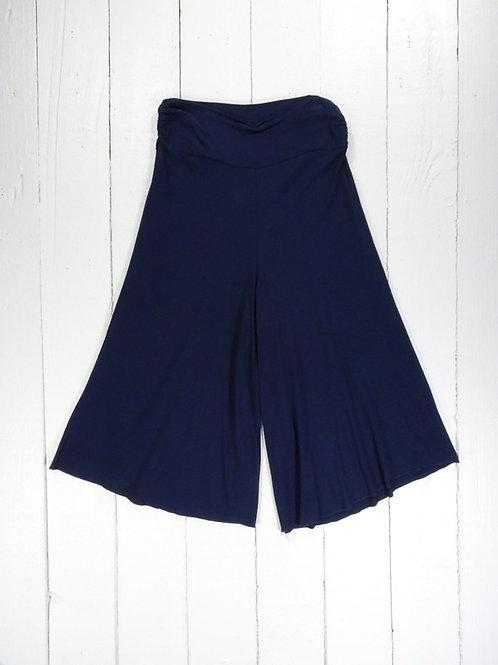 Short Wide Leg Trousers / Culottes- 100% Viscose