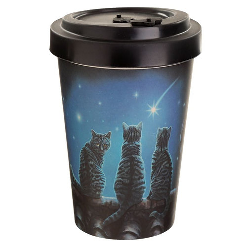 """Wish Upon a Star"" Travel Mug by Lisa Parker"