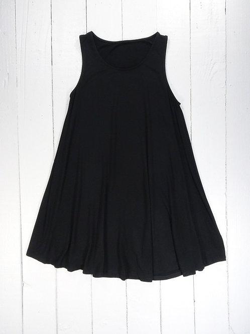 Short Sleeveless Dress- 100% Viscose