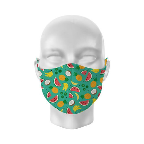 Tropical Reusable Adult Face Covering