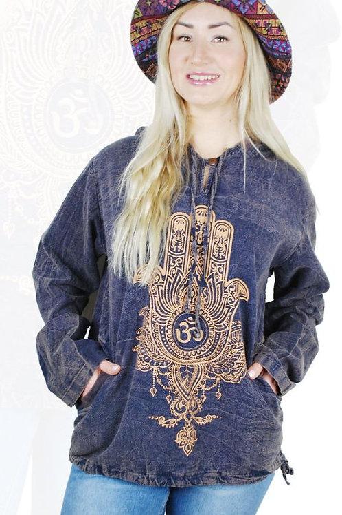 Hamsa Hooded Shirt / Jacket