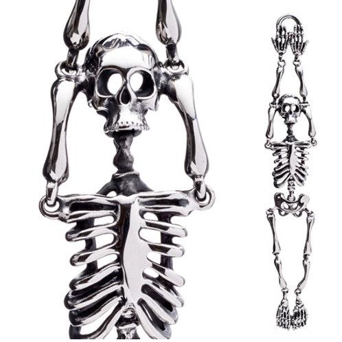 Stainless Steel Skeleton Bracelet