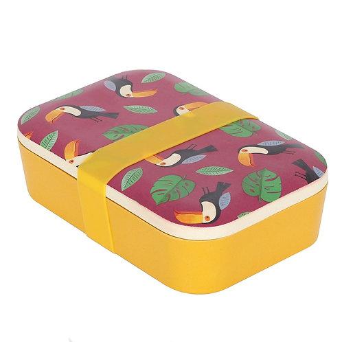 Toucan Bamboo Lunchbox