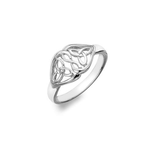 Celtic Trinity Hearts Ring