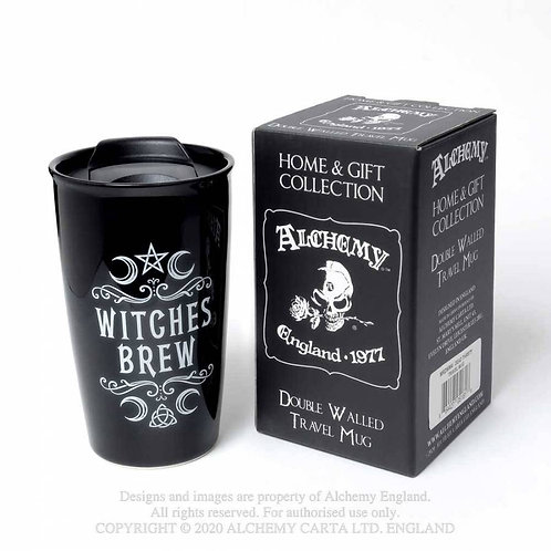 """Witches Brew"" Ceramic Travel Mug"