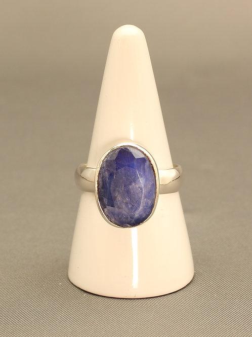 Sapphire Quartz Ring