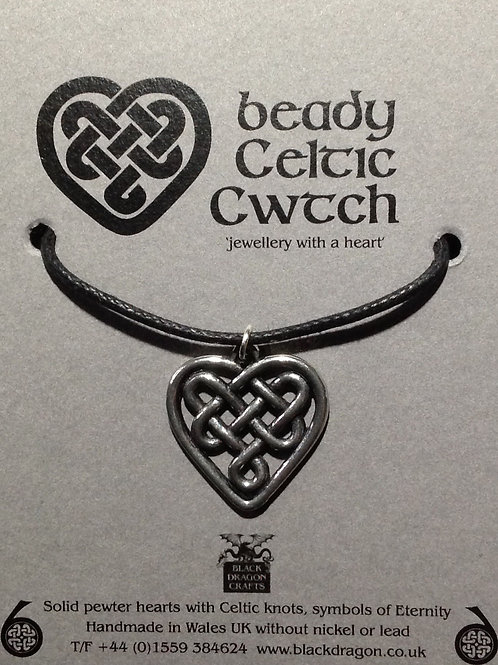 Beady Celtic Cwtch Pendant
