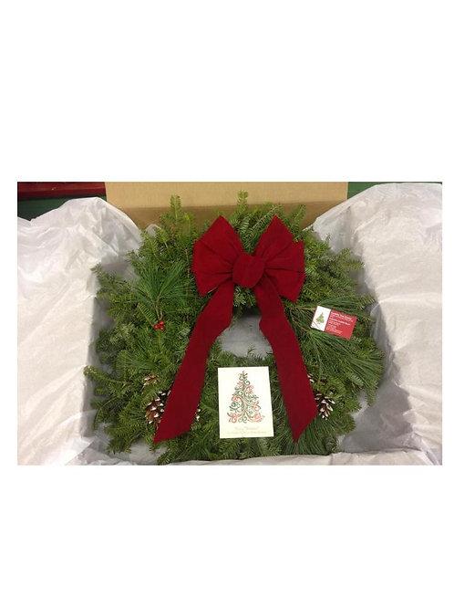 "Mail Order Wreath 24"""