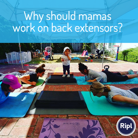 Mamas' Posture And Working On Your Upper Back