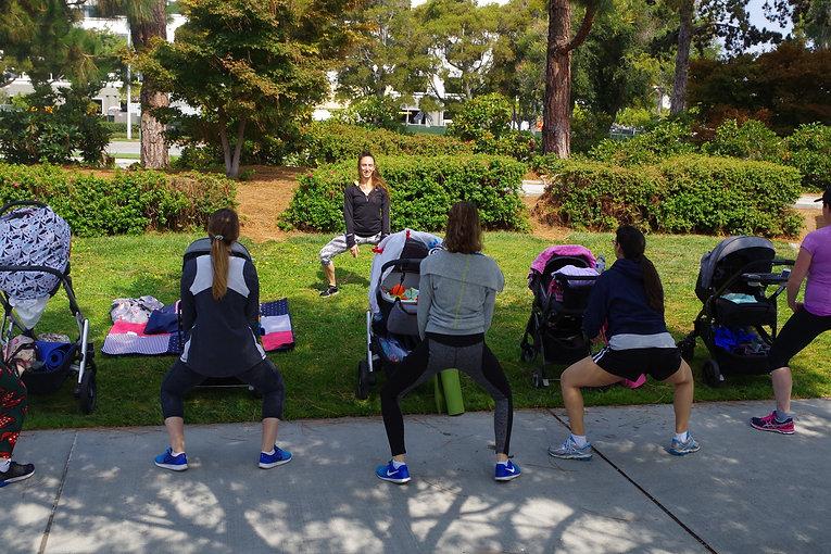 postpartum moms stroller fitmom group.JP