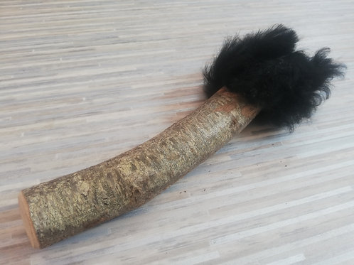 Mailloche poilue noire