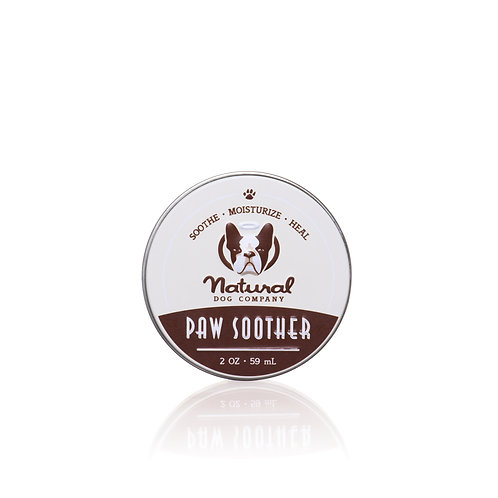 Natural Dog Company Paw Soother, Heals Dry, Cracked, Irritated Dog Paw Pads