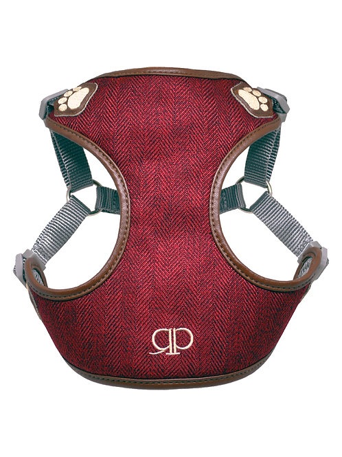 London BORDEAUX | Pretty Paw Dog Harness Designer