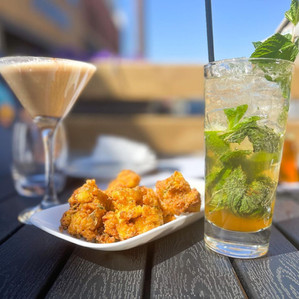 Cauliflower wings Maurya's style with East Indian inspired craft cocktails!