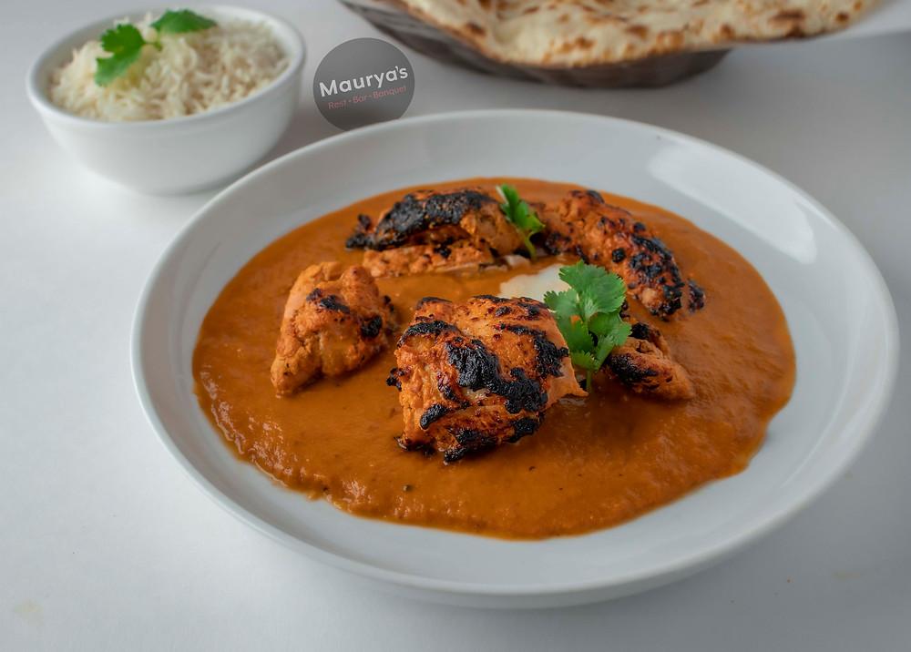 Maurya's kamloops best butter chicken