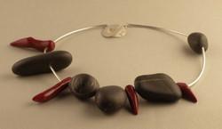 Bilder + Silberschmuck mit Steinen