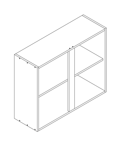 900mm Wall Cabinet