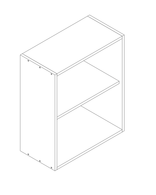 600mm Wall Cabinet