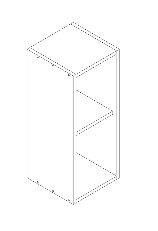 300mm Wall Cabinet