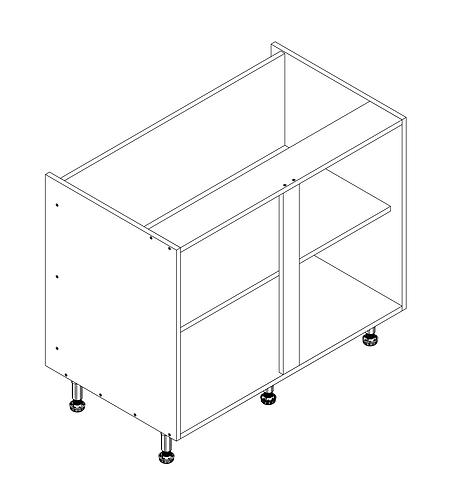 1000mm Base Cabinet