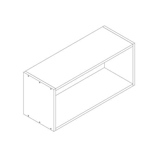 800mm Bridging Cabinet